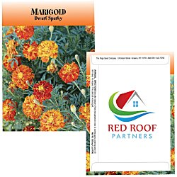 View a larger, more detailed picture of the Standard Series Seed Packet - Marigold