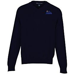 View a larger, more detailed picture of the Devon & Jones V-Neck Sweater - Men s