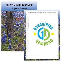 View a larger, more detailed picture of the Standard Series Seed Packet - Texas Bluebonnet