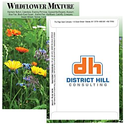 View a larger, more detailed picture of the Standard Series Seed Packet - Wildflower Mix
