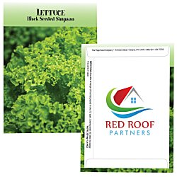 View a larger, more detailed picture of the Standard Series Seed Packet - Lettuce