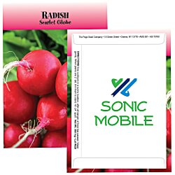 View a larger, more detailed picture of the Standard Series Seed Packet - Radish