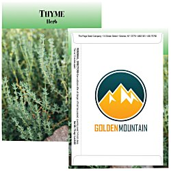 View a larger, more detailed picture of the Standard Series Seed Packet - Thyme
