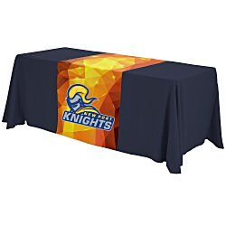 View a larger, more detailed picture of the 6 Closed-Back Table Throw and Runner Kit - Full Color