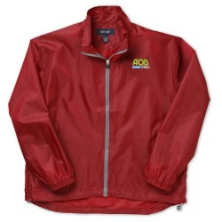 View a larger, more detailed picture of the Lightweight Poly Jacket - Embroidered