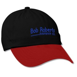 View a larger, more detailed picture of the Bio-Washed Cap - Two Tone - Screen