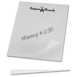 View a larger, more detailed picture of the Notepad - 11 x 8-1 2 - 25 sheet