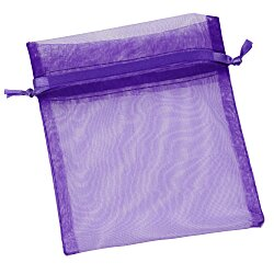 View a larger, more detailed picture of the Sheer Organza Gift Bag - 5 x 4