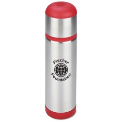 View a larger, more detailed picture of the Color Accent Stainless Vacuum Bottle - 16 oz