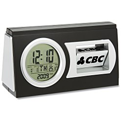 View a larger, more detailed picture of the Revolving Logo Desk Clock