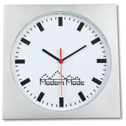 View a larger, more detailed picture of the Square Wall Clock - 12