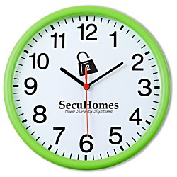 View a larger, more detailed picture of the Color Edge Slim Wall Clock - 12
