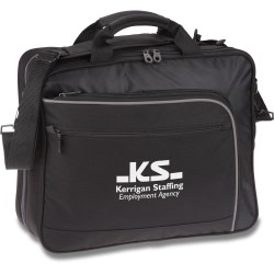 View a larger, more detailed picture of the Life in Motion Primary TSA Laptop Brief Bag