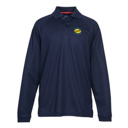 View a larger, more detailed picture of the Eperformance Pique LS Sport Shirt - Men s