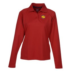 View a larger, more detailed picture of the Eperformance Pique LS Sport Shirt - Ladies