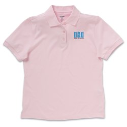 View a larger, more detailed picture of the EDRY Doubleknit Polo - Ladies 