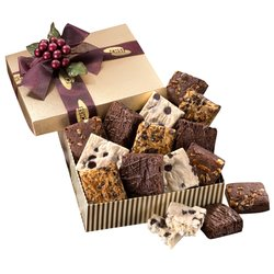 View a larger, more detailed picture of the Gourmet Brownie Assortment Box
