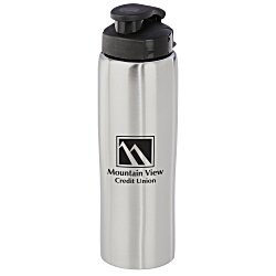 View a larger, more detailed picture of the Cruz Stainless Bottle - 26 oz