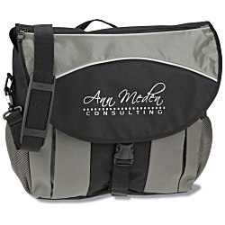 View a larger, more detailed picture of the Stretch Laptop Messenger Bag