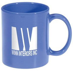 View a larger, more detailed picture of the Stoneware Mug - Colored - 11 oz 
