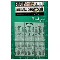 View a larger, more detailed picture of the Bic 20 mil Calendar Magnet - Thank You