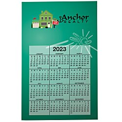 View a larger, more detailed picture of the Bic 20 mil Calendar Magnet - Real Estate