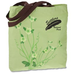 View a larger, more detailed picture of the Design Accent Cotton Shopper - Flower