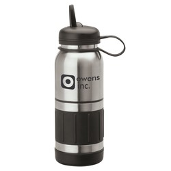 View a larger, more detailed picture of the Casoria Stainless Bottle - 34 oz 