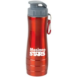View a larger, more detailed picture of the Action Stainless Steel Bottle - 26 oz 