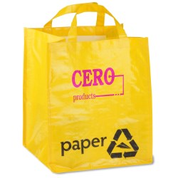 View a larger, more detailed picture of the ModFX Recycling Tote - Paper - Closeout