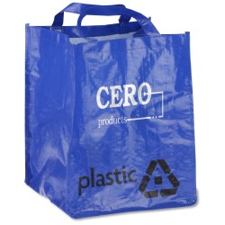 View a larger, more detailed picture of the ModFX Recycling Tote - Plastic - Closeout