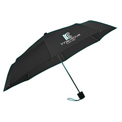 View a larger, more detailed picture of the Economy 42 Arc Manual Opening Umbrella - 24 hr