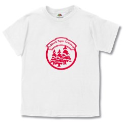 View a larger, more detailed picture of the Fruit of the Loom Best 50 50 Youth T-Shirt - White