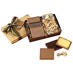 View a larger, more detailed picture of the Cookies and Confections Treat Box - Deluxe Mixed Nuts