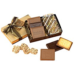 View a larger, more detailed picture of the Cookies and Confections Treat Box - English Butter Toffee