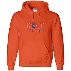 View a larger, more detailed picture of the Gildan 50 50 Hooded Sweatshirt - Applique Felt - Colors