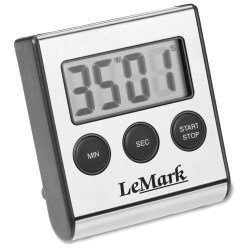 View a larger, more detailed picture of the Executive Stainless Timer