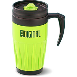View a larger, more detailed picture of the Tazza Travel Mug - 14 oz