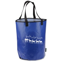 View a larger, more detailed picture of the Laminated Polypropylene Basket Tote