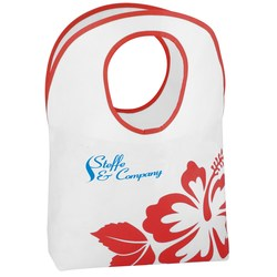 View a larger, more detailed picture of the Polypropylene Hobo Tote - Flower - 24 hr