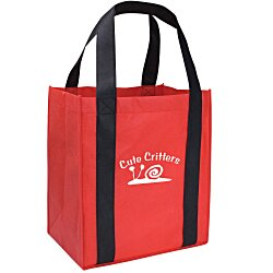 View a larger, more detailed picture of the Grande Shopping Tote - 14 x 12-1 2 - 24 hr