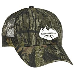View a larger, more detailed picture of the Camo Mesh Cap