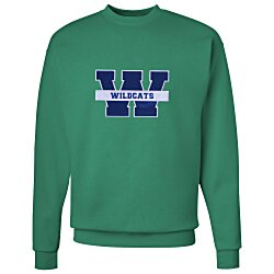 View a larger, more detailed picture of the Hanes ComfortBlend Sweatshirt - Applique Twill