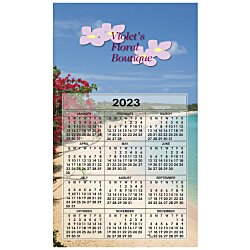 View a larger, more detailed picture of the Bic 20 mil Calendar Magnet Medium Seashore