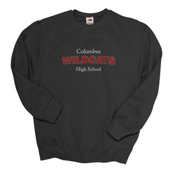 View a larger, more detailed picture of the FOL Best 50 50 Sweatshirt - Applique Felt