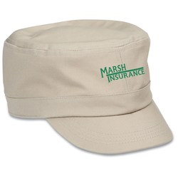 View a larger, more detailed picture of the Cadet Cap - Solid - Closeout