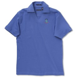 View a larger, more detailed picture of the Blue Generation Pima Polo - Ladies