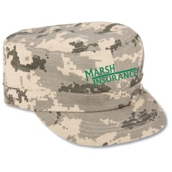 View a larger, more detailed picture of the Cadet Cap - Camouflage - Closeout