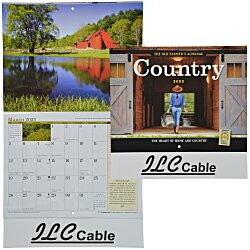 View a larger, more detailed picture of the The Old Farmer s Almanac Calendar - Country - Stapled