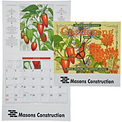 View a larger, more detailed picture of the The Old Farmer s Almanac Calendar - Gardening - Stapled